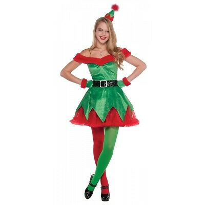 Christmas Elf Costume Adult Christmas Fancy Dress