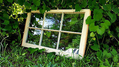 Vintage Sash Antique Wood Window Unique Frame Pinterest Wedding 32X19 Six Pane