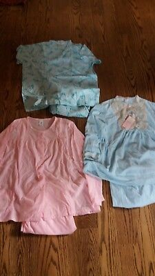 Vintage 3 Prs. Ladies Pajamas NOS Katz, Sears, & Lady No Belt Size 36 & 38