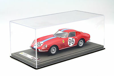 QUALITY ACRYLIC DISPLAY CABINET FOR MODEL CARS ON A Scale of 1:18 Light Gray