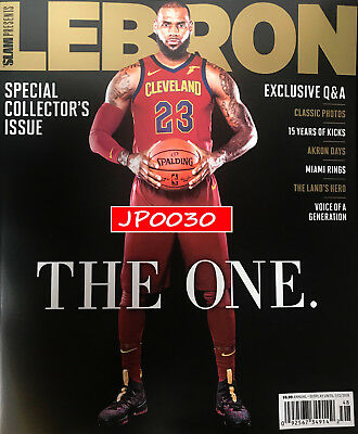 Slam Kicks Special Collector's 2017 #48, LeBron James, Brand New/Sealed