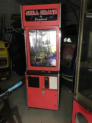 Grayhound Skill Crane Claw Arcade Machine Full Size Project A
