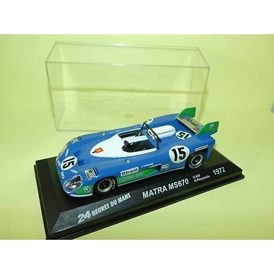 1972 Matra Simca Ms670 Le Mans 24 Hours 1St Winner 1/43 Ixo