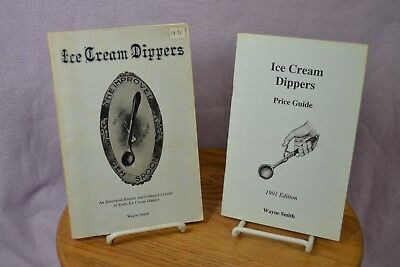 Vintage Ice Cream Dippers Identification and Price Guide Books by Wayne Smith
