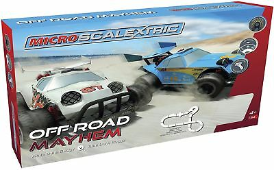 Micro Scalextric Off-Road Mayhem Set A