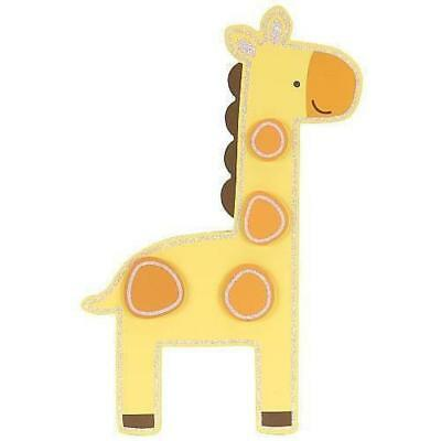 "Babies""R""Us 1952 Yellow Wooden Nursery Hanging Giraffe Wall Decor 15 Inch BHFO"