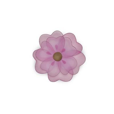"Babies""R""Us 7738 Pink Mesh Baby Girl Nursery Flower Wall Decor BHFO"