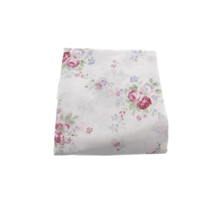 Tiddliwinks 4606 Cottage Chic White Nursery Nursery Drape Panel 84 x 43 In BHFO
