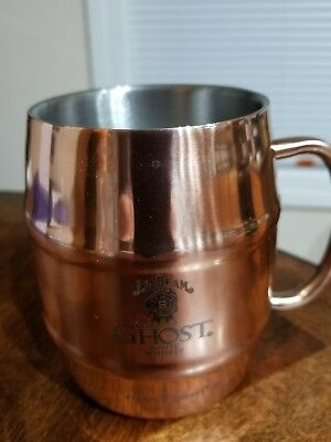 Jim Beam Copper Mule Mugs stainless steel inside barware party's Holiday whisky