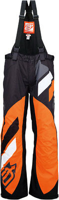 ARCTIVA Snow Snowmobile Mens 2017 COMP Insulated Bibs/Pants BLK/ORNG Choose Size