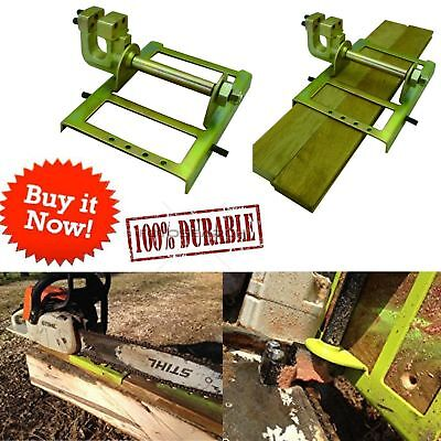 Wood Cutting Guide Lumber Saw Steel Timber Chainsaw Attachment Cut Guided Mill