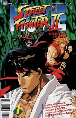 Street Fighter II The Animated Movie   #1 to 6 Complete   NM- to NM/M