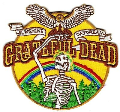 GRATEFUL DEAD - SUNSHINE / GAYDREAM - IRON or SEW-ON PATCH