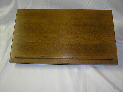 Vintage Gaylord Bros Wooden Book Stand Podium Library Revolving