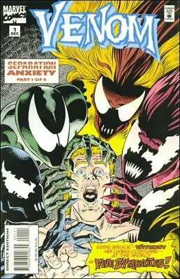 Venom Separation Anxiety   #1 to 4 Complete   NM- to NM/M