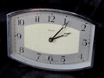 Very Stylish Art Deco Strut Clock By Enfield