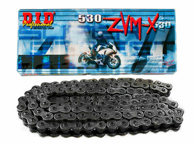 DID 530 ZVM-X Super Street Series X-Ring Chain (Natural) 120 Links