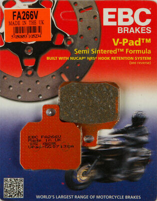 EBC Semi-Sintered V Brake Pads / One Pair (FA266V)