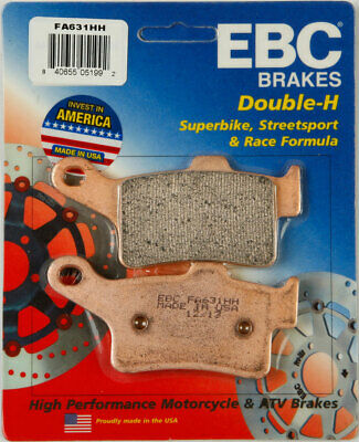 EBC Double-H HH Sintered Superbike Brake Pads / One Pair (FA631HH)