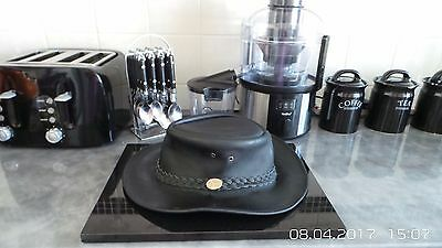 Depeche Mode Real  Leather Hat