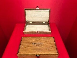 Hp Agilent 54007A Empty Wooden Box For Calibration Kits