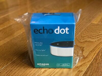 Amazon Echo Dot in White (2nd Generation) - Brand New/Sealed