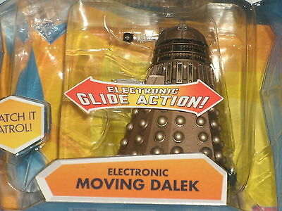 "BBC Doctor Who: ELECTRONIC MOVING DALEK (Heritage 4"" Action Figure) Exterminate"