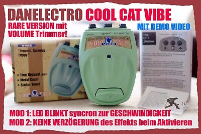 Danelectro Cool Cat VIBE /RAR Output-Trimmer-Version /MODDED / GREAT UNIVIBE !!!