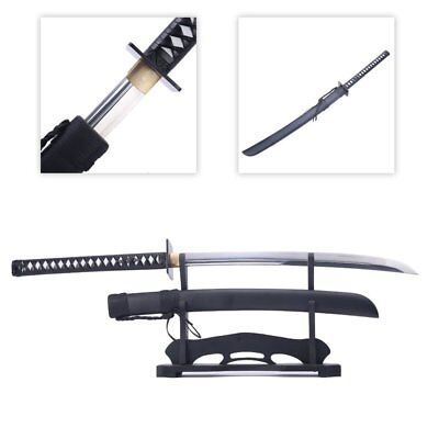 """Han Dynasty Sword,""""zhan Ma Dao"""" Chinese Ancient Saber Cut 1095 High Carbon Ste"""