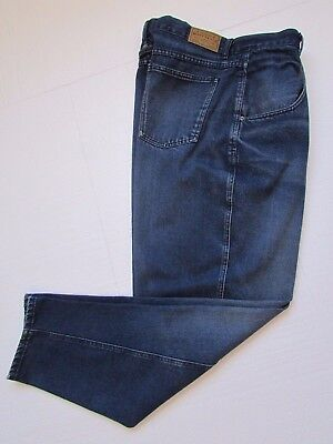 Brittania VINTAGE High Waist Denim Jeans Pleat Front Tapered Leg Size 16 Avg