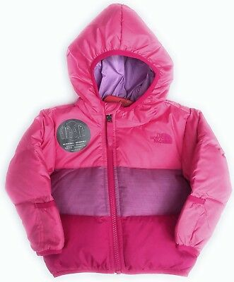 09d16c0e4c The North Face Baby Boy s Girl s Moondoggy Reversible Down Hoodie Jacket ...