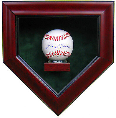 Single Baseball Home Plate Shaped Display Case-The Best Quality
