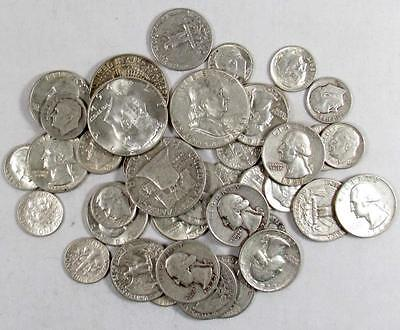 SILVER!!! (1) ONE Troy Pound LB U.S. Mixed Silver Coins Lot No Junk Pre-1965!!