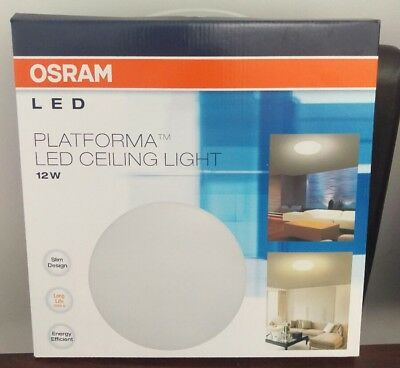 New Osram Slim Oyster 12W 6500K Platforma Led 13103