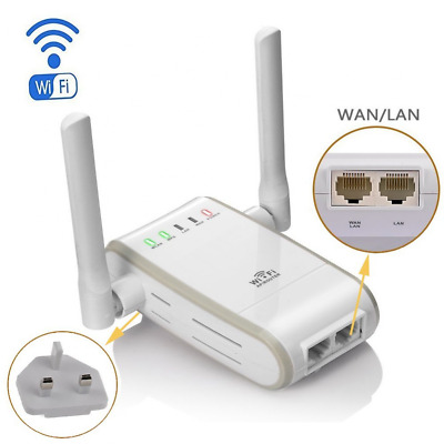 DC XINGDONGCHI Wireless-N 300Mbps WiFi Range Extender Router/Repeater/AP/Wps Min