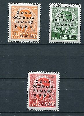 Italy 1941 Occupation Of Slovenia Fiumerland Mothers Help Set Perfect Mnh