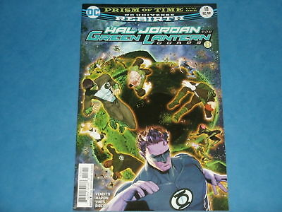 DC Comics Rebirth: HAL JORDAN & THE GREEN LANTERN CORPS #18  June 2017