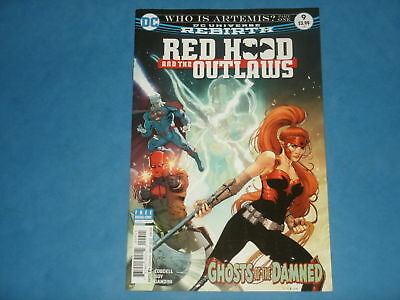 DC Comics Rebirth: RED HOOD & THE OUTLAWS #9 June 2017 'Who Is Artemis? Part 1'