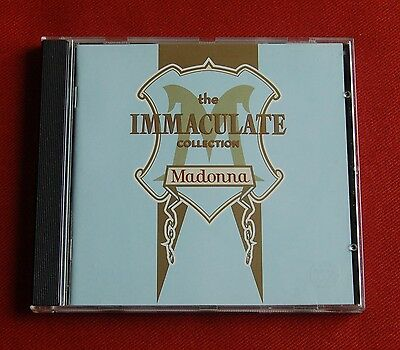 Madonna - The Immaculate Collection - Sire / Warner Bros CD 1990 - Best Greatest