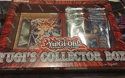 Yu-Gi-Oh Collector Box Yugi, 6 Duelist Pack Booster + Deck, ungeöffnet