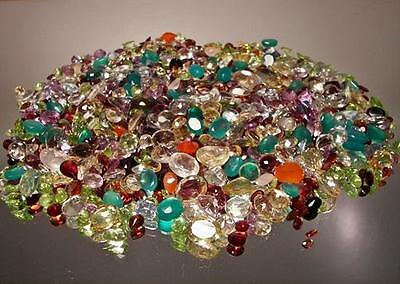 5,000+ Ct Mixed Gemstones Lot Loose Natural  Gem Stones Wholesale Mixed Gem Lot