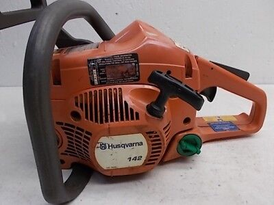 Husqvarna 142 Chainsaw For Parts Or Repair Used