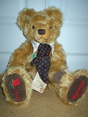 "Hermann ""Mousetrap"" Mohair Teddy Bear No.15 of 50  Excellent Condition"