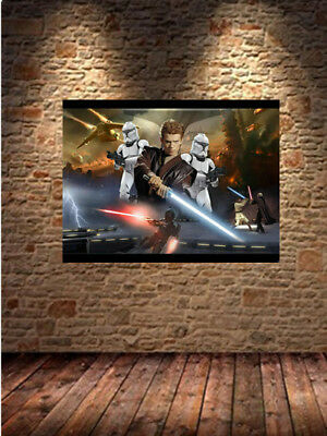 Star wars entertainment Home decor HD Canvas print Art painting No Frame 24 H802