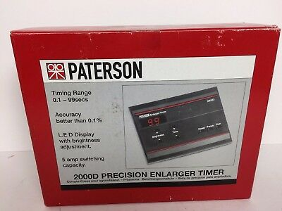 Paterson Enlarger Timer Model 2000D New In Box