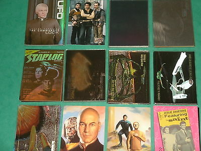 TV Series Rare Chase Trading Cards (A) Single Cards:Star Trek,Blakes 7,Saint,UFO