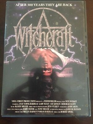 Witchcraft I (DVD, 1997) Rare OOP Classic 80s Horror!