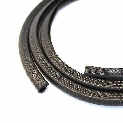 "10 Feet Door Moulding Rubber Strip Trim U Channel Guard Edge Protector 1/8"" Fit"