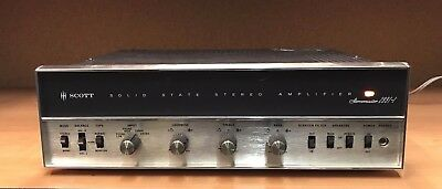 Vintage ~ H.h. Scott 299T-1 Stereo Amplifier ~ 299T Tested For Power ~