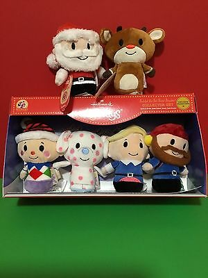 NWT Hallmark Itty Bitty Exclusive Set of (6) RUDOLPH THE RED -NOSED REINDEER~~